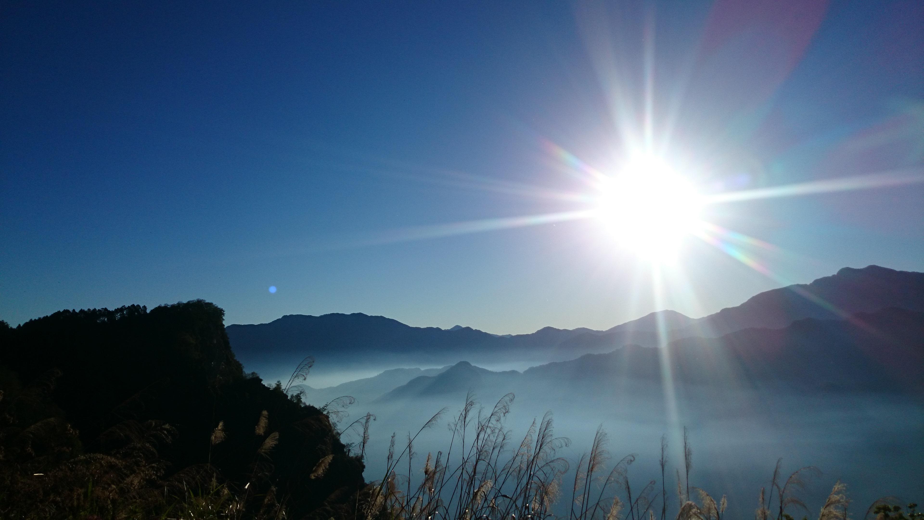 台湾ブログ 阿里山のご来光