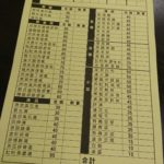 紅門麺線 注文表