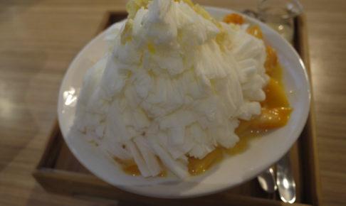 Mr. 雪腐 マンゴーかき氷