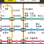 生活行 MRT 路線図